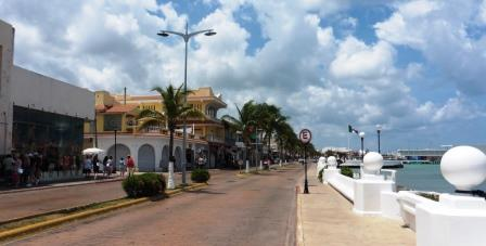 Cozumel waterfront
