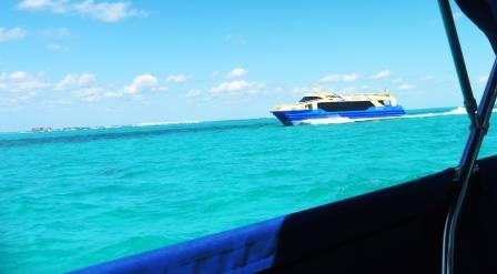 Dodging ferries