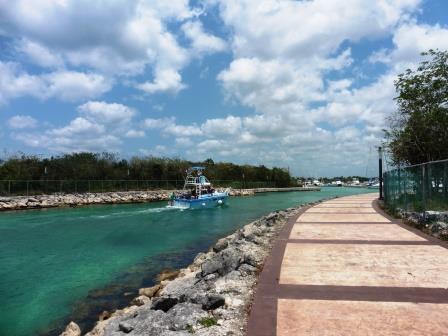 Marina entrance