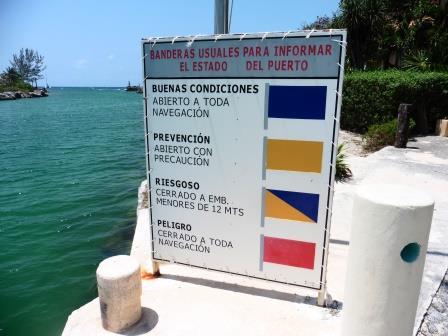 Puerto Aventuras marina entrance