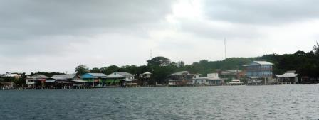 Utila waterfront