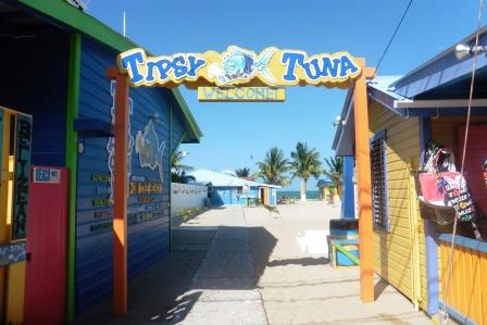 Entrance to Tipsy Tuna