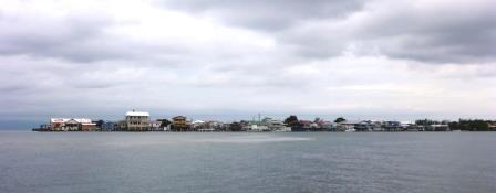 Habited island