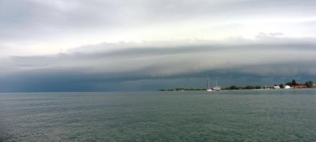 Ominous looking sky