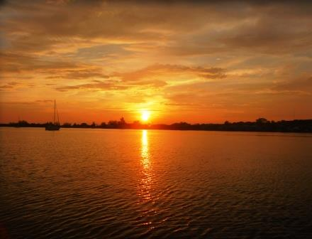 Sunset Utila 2