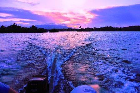 Heading back before dark