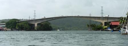 Heading back towards the bridge