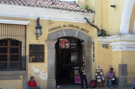 Hotel Convento entrance