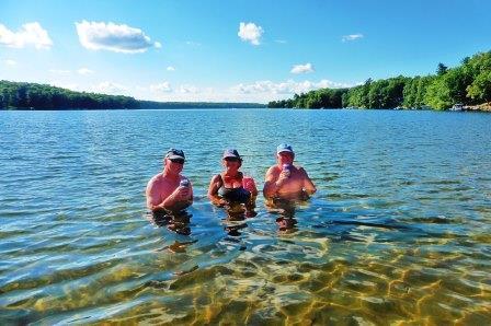 Lake bobbing