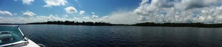 Panorama of Beaver Dam Lake