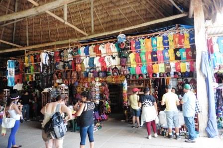 Tikal shops