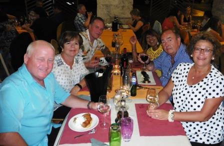 Dinner in Eymet